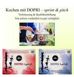 Kochen mit DOPRI - sprint & pitch