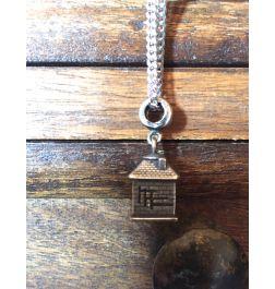 Silberkette/Männer Anhänger-Kraftsymbole Haus-Erdung-Schutz von deinem Zuhause