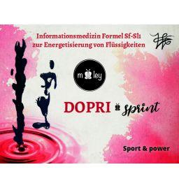Dopri - sprint  Motivation - Konzentration - Power - Ausdauer