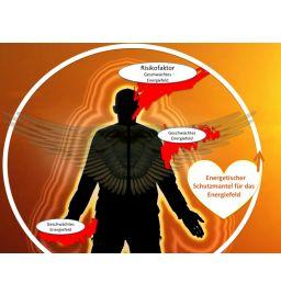 Schutzmantel Badge fürs Energiefeld